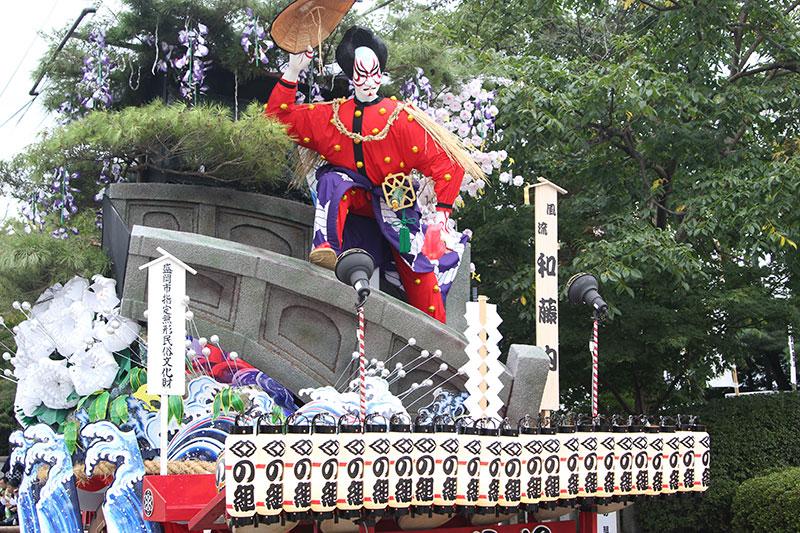 盛岡秋祭り01